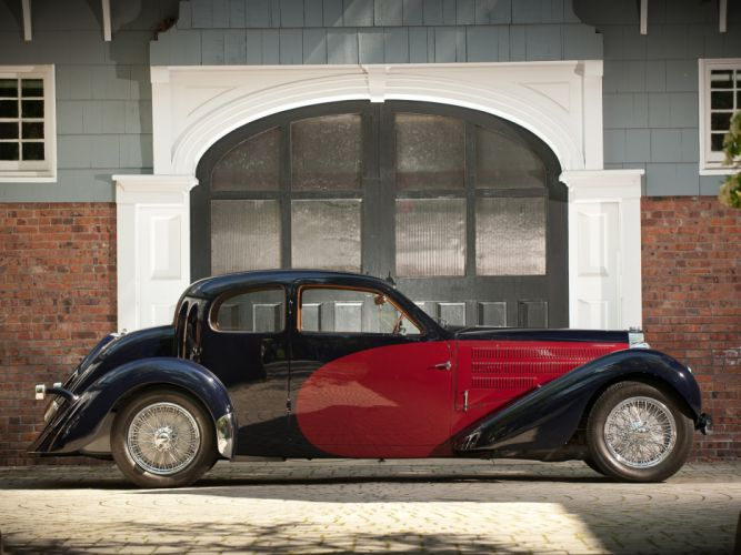 1937 Bugatti Type-57 Ventoux Coupe (Series-III) retro f wallpaper