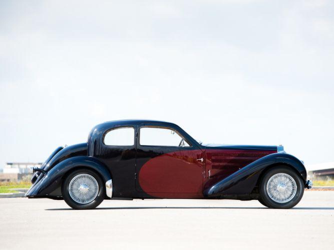 1937 Bugatti Type-57 Ventoux Coupe (Series-III) retro t wallpaper