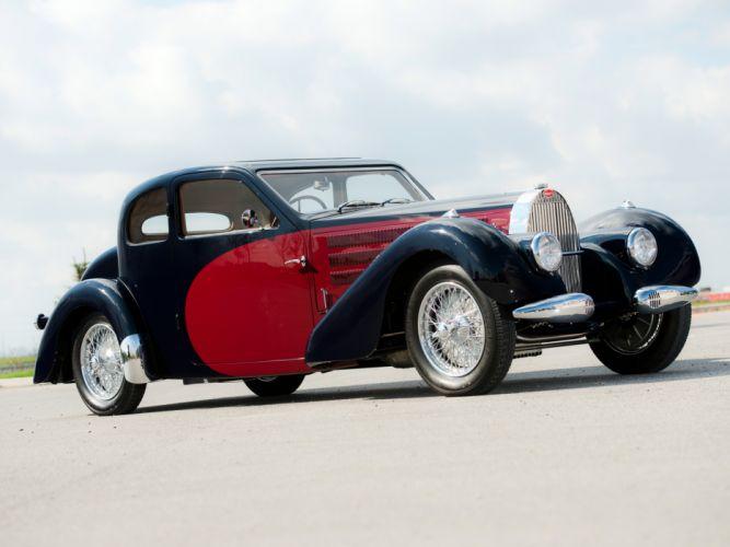 1937 Bugatti Type-57 Ventoux Coupe (Series-III) retro h wallpaper