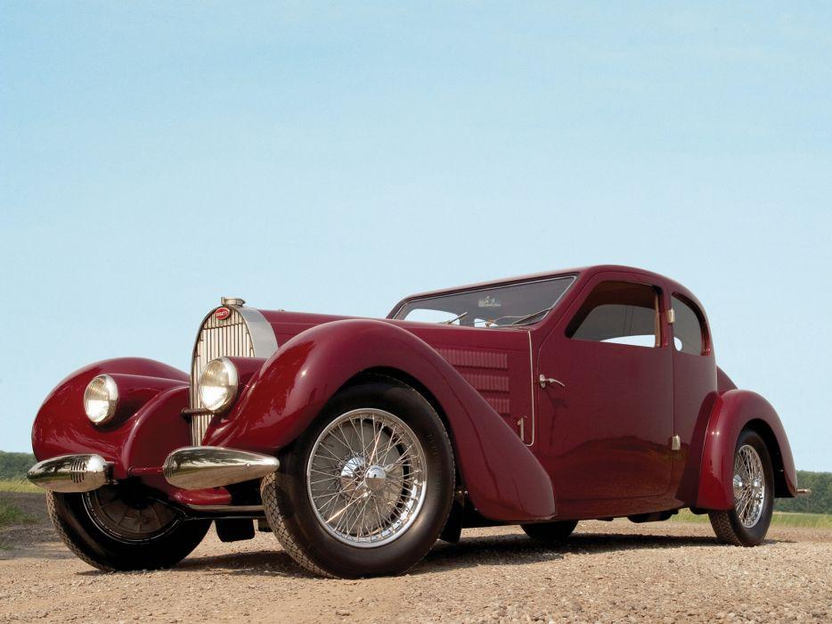 1939 Bugatti Type-57 Ventoux Coupe (Series-III) retro    e wallpaper
