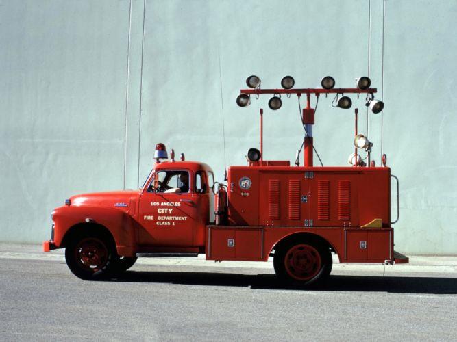 1948 GMC 350 Firetruck emergency retro r wallpaper