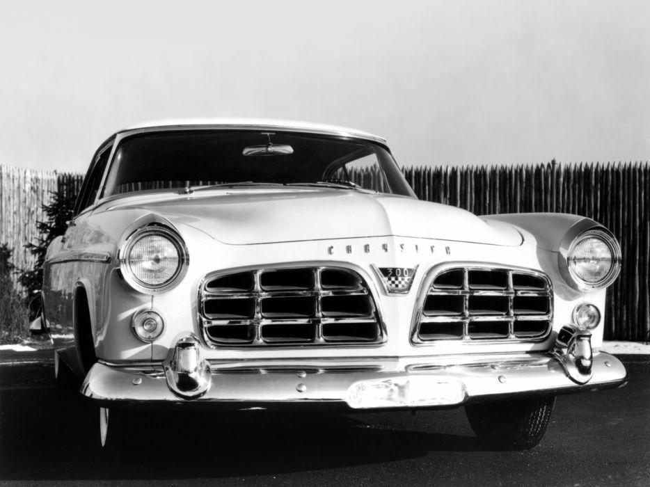 1956 Chrysler 300B retro luxury   y wallpaper