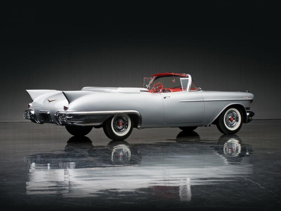 1957 Cadillac Eldorado Biarritz (6267) retro luxury      g wallpaper
