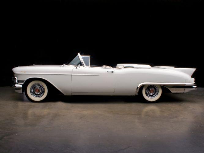 1957 Cadillac Eldorado Biarritz (6267) retro luxury fw wallpaper