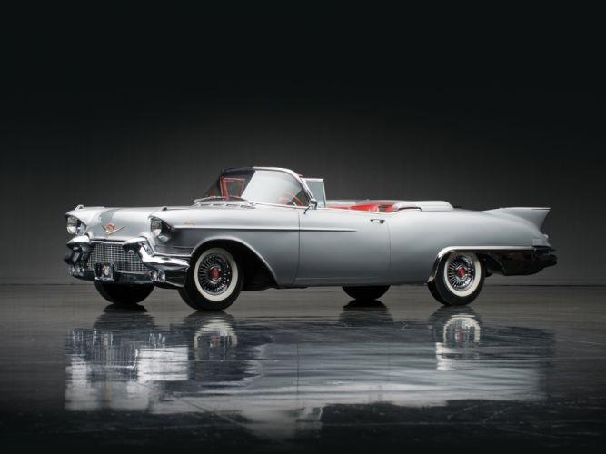 1957 Cadillac Eldorado Biarritz (6267) retro luxury f wallpaper