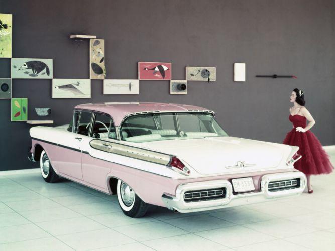 1957 Mercury Montclair Sedan (58B) retro dd wallpaper