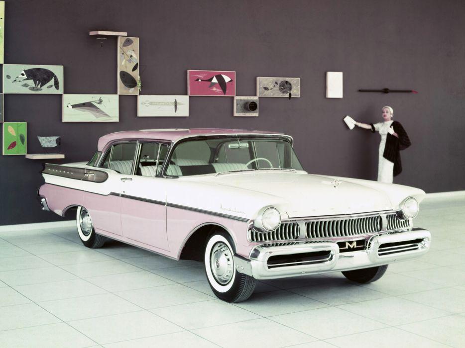 1957 Mercury Montclair Sedan (58B) retro   dl wallpaper