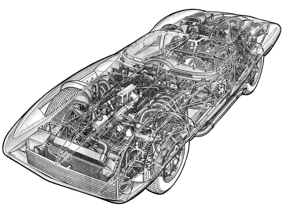 1959 Chevrolet Corvette Stingray Racer Concept race racing supercar retro interior engine     g wallpaper