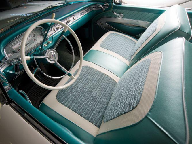 1959 Ford Fairlane 500 Skyliner Retractable Hardtop retro interior h wallpaper