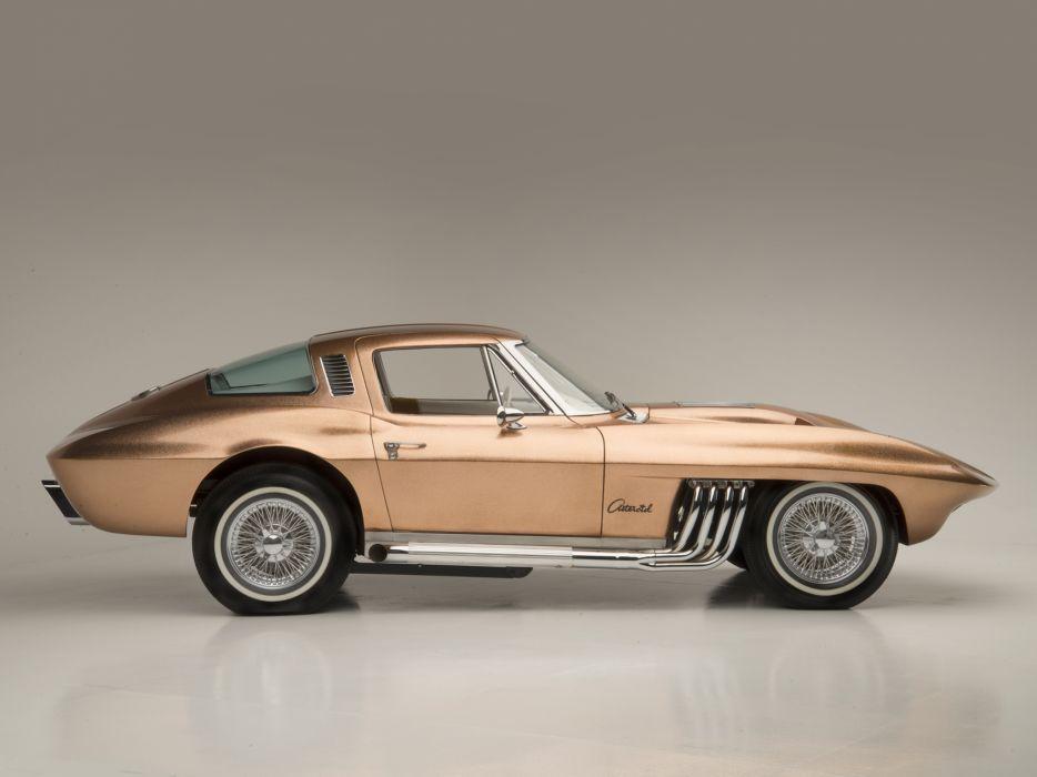 1963 Cherolet Corvette Asteroid Barris Kustom hot rod rods muscle classic custom supercar   f wallpaper