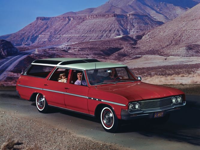 1964 Buick Sport Wagon classic stationwagon d wallpaper