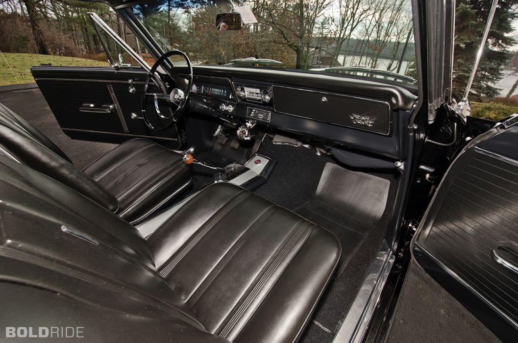 1966 Chevrolet Nova SS muscle classic s-s interior a wallpaper
