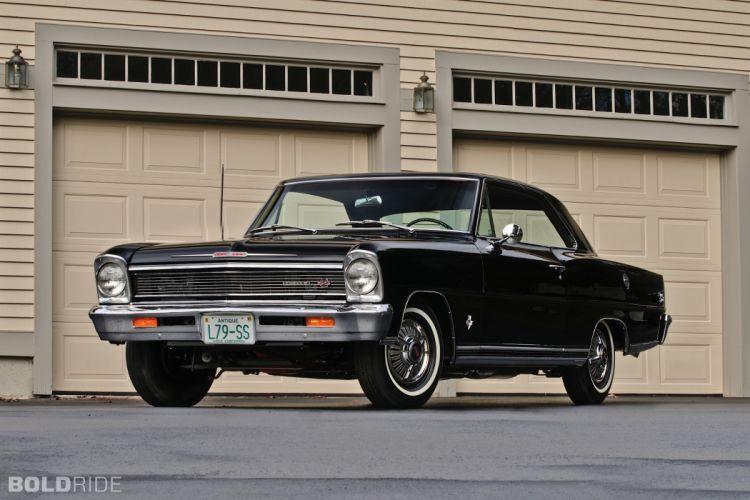 1966 Chevrolet Nova SS muscle classic s-s f wallpaper