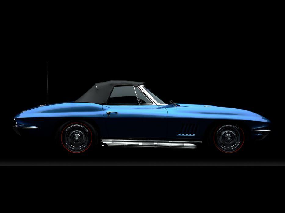 1967 Chevrolrt Corvette StingRay L71 427 435HP Convertible (C-2) supercar muscle classic     h wallpaper