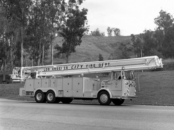 1968 Crown Firecoach emergency firetruck classic r wallpaper