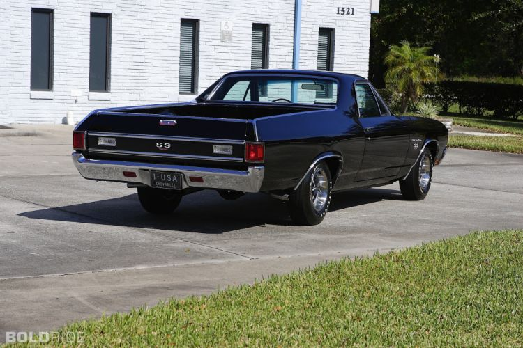 1970 Chevrolet El Camino S-S classic pickup muscle be wallpaper