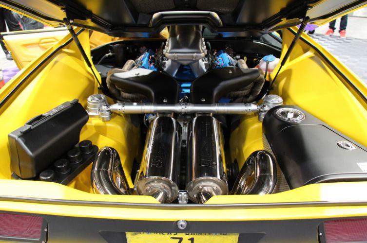 1971 De Tomaso Pantera supercar De-Tomaso engine f wallpaper