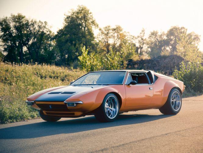 1972 De Tomaso Pantera supercar De-Tomaso d wallpaper