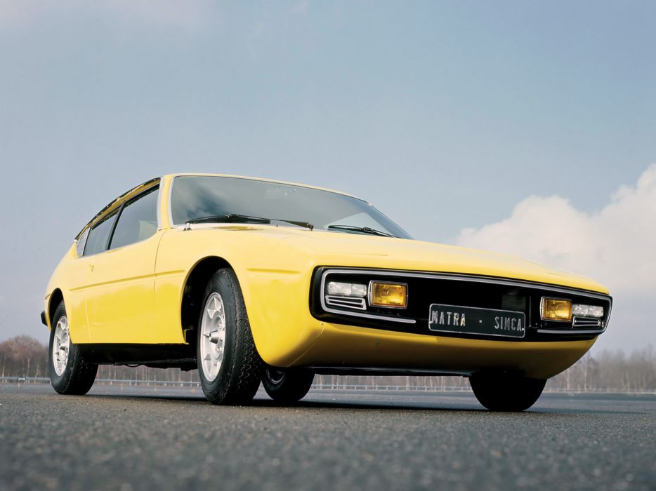 1974 Matra-Simca Bagheera supercar classic   fg wallpaper