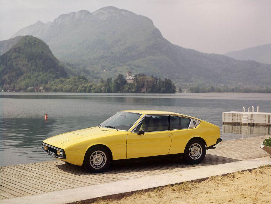 1974 Matra-Simca Bagheera supercar classic  f wallpaper