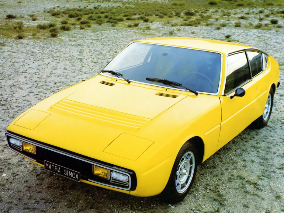1974 Matra-Simca Bagheera supercar classic    g wallpaper