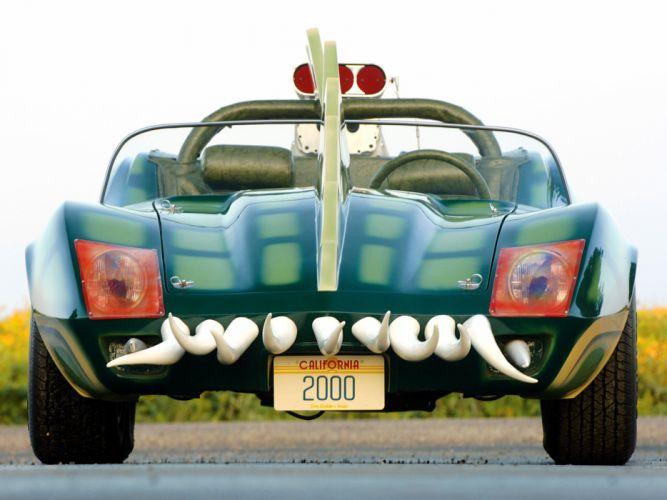 1975 Chevrolet Corvette Custom Roadster Alligator C-3 hot rod rods movie deathe race 2000 supercar engine c wallpaper