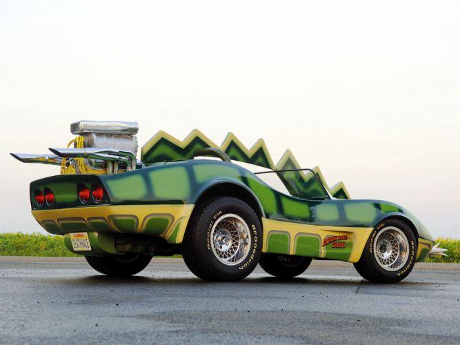1975 Chevrolet Corvette Custom Roadster Alligator C-3 hot rod rods movie deathe race 2000 supercar engine fd wallpaper