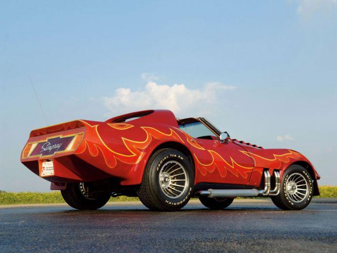 1978 Chevrolet Corvette Stingray Roadster (C-3) hot rod rods muscle concept custon supercar g wallpaper