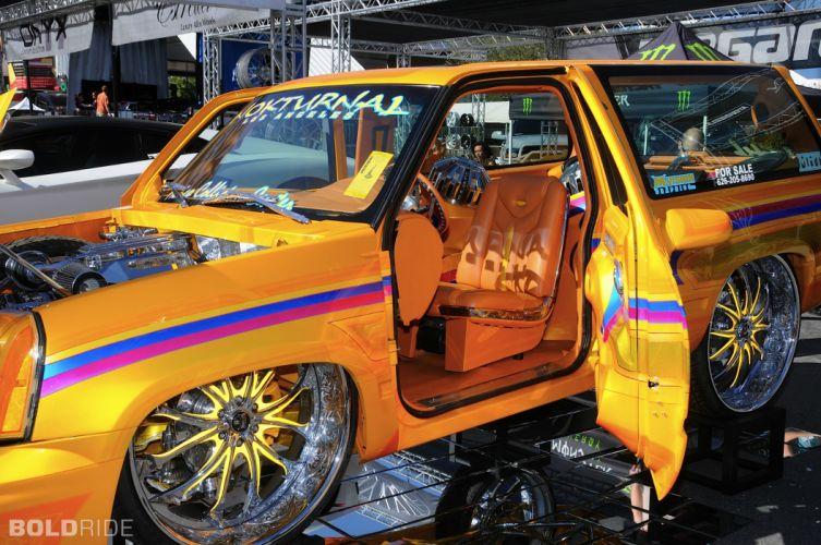 1998 Chevrolet Tahoe suv tuning custom lowrider interior j wallpaper