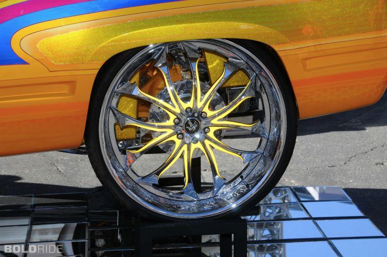 1998 Chevrolet Tahoe suv tuning custom lowrider wheel g wallpaper