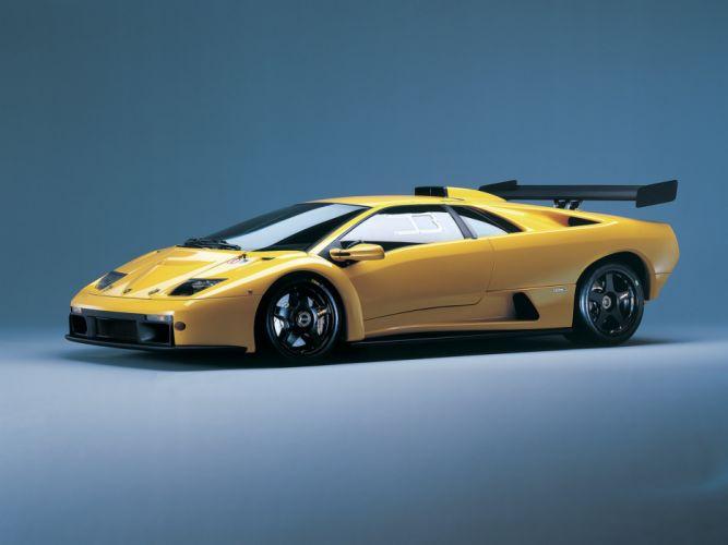 2000 Lamborghini Diablo GTR supercar d wallpaper