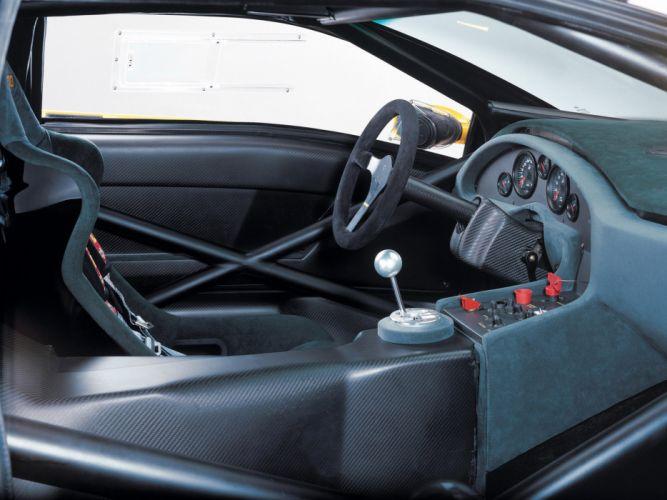 2000 Lamborghini Diablo GTR supercar interior g wallpaper