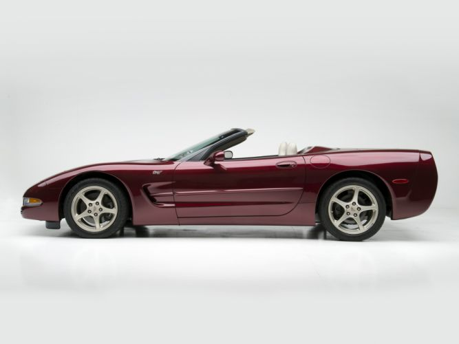 2002 Chevrolet Corvette Convertible 50th Anniversary (C5) supercar muscle r wallpaper