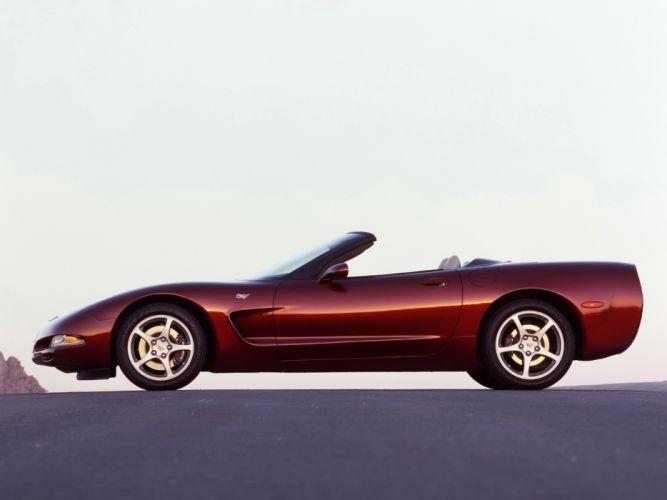 2002 Chevrolet Corvette Convertible 50th Anniversary (C5) supercar muscle rw wallpaper