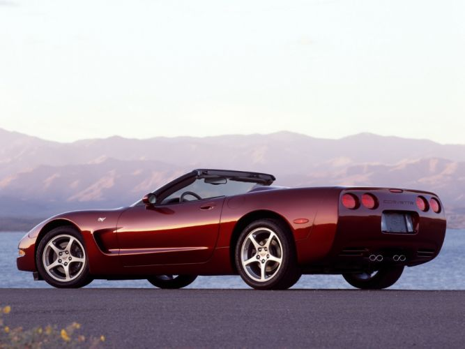 2002 Chevrolet Corvette Convertible 50th Anniversary (C5) supercar muscle 5 wallpaper