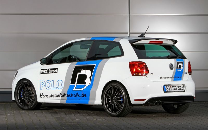 2013 BB-Automobiltechnik Volkswagen Polo R WRC Street tuning h wallpaper