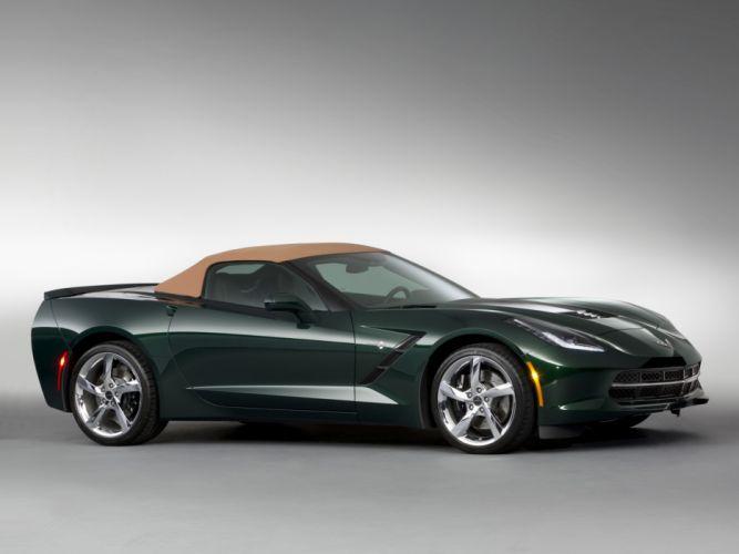 2013 Chevrolet Corvette Stingray Premiere Edition Convertible (C-7) supercar muscle f wallpaper