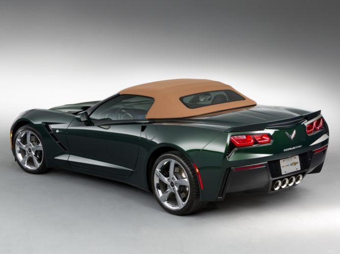 2013 Chevrolet Corvette Stingray Premiere Edition Convertible (C-7) supercar muscle 4 wallpaper