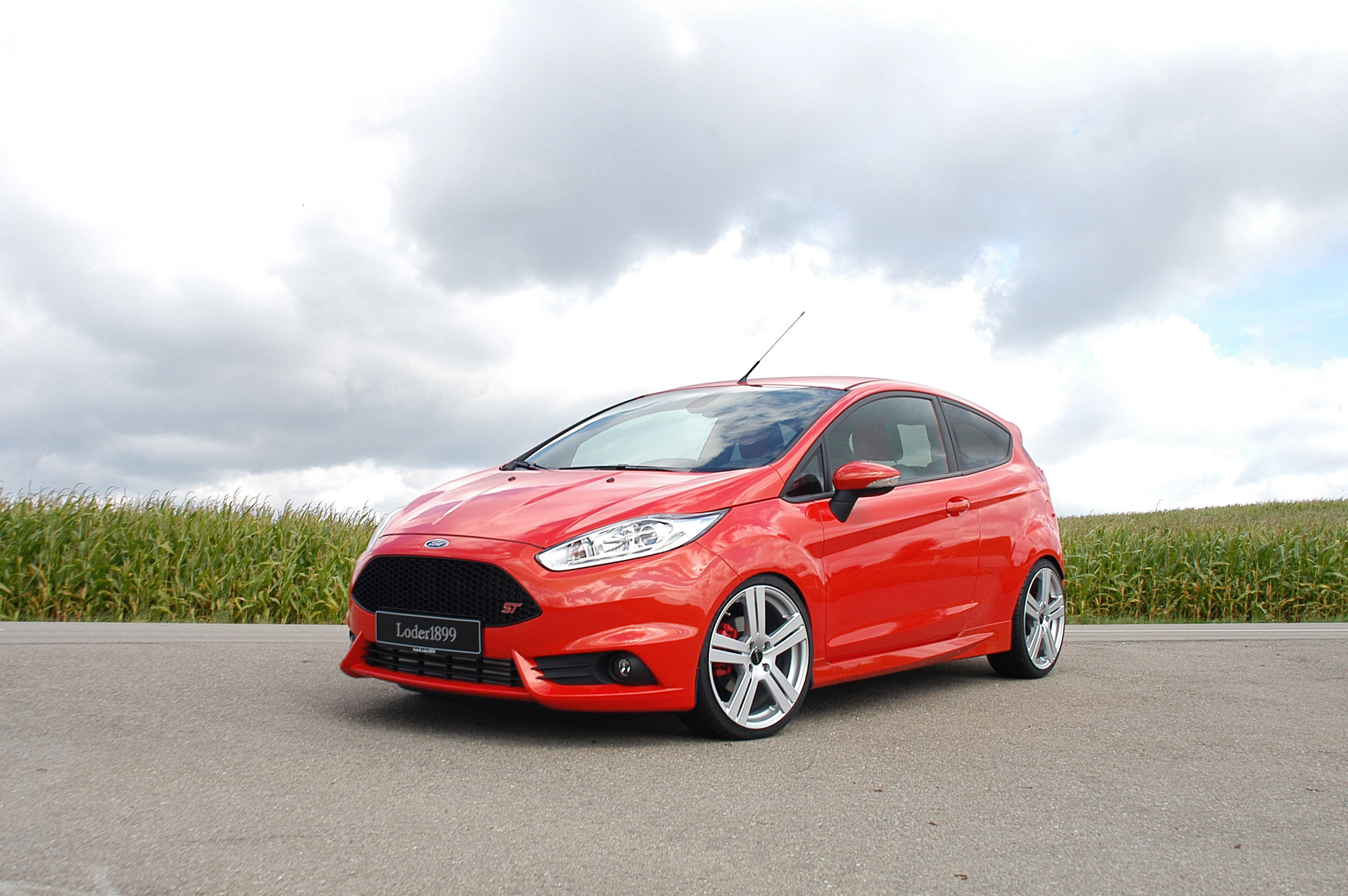 2013 loder1899 ford fiesta st tuning s t t wallpaper. Black Bedroom Furniture Sets. Home Design Ideas