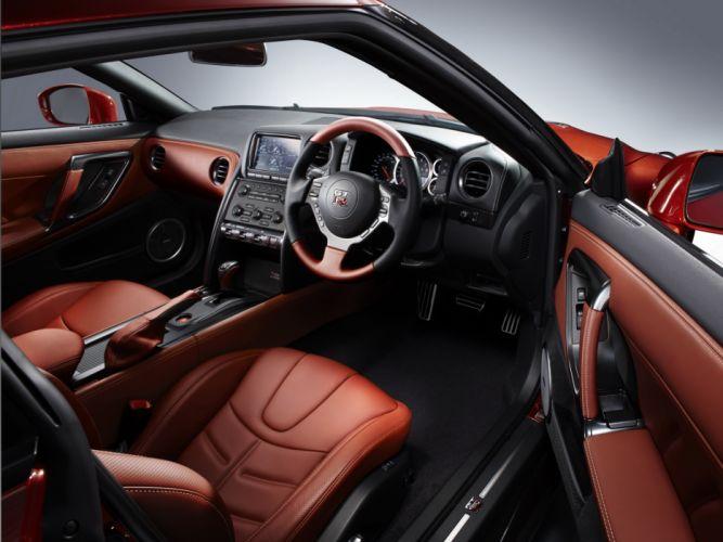 2013 Nissan GT-R JP-spec (R35) supercar interior h wallpaper