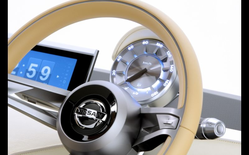 2013 Nissan IDx Freeflow Concept interior d wallpaper