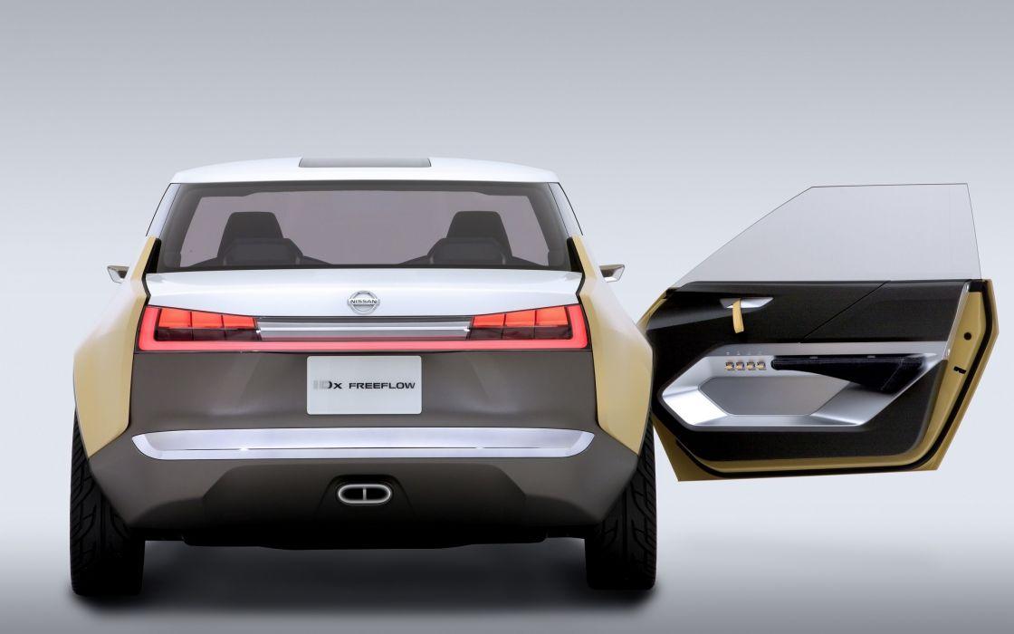 2013 Nissan IDx Freeflow Concept interior       f wallpaper