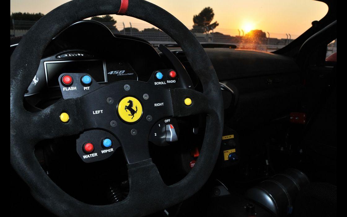 2013 racing-one Ferrari 458 Competition supercar tuning race racing interior    g wallpaper