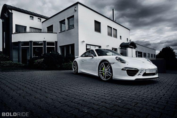 2013 TechArt Porsche 911 Carrera 4 tuning f wallpaper