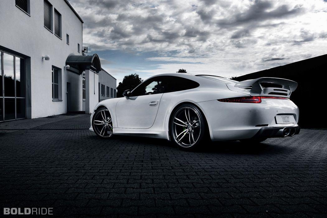 2013 TechArt Porsche 911 Carrera 4 tuning e wallpaper