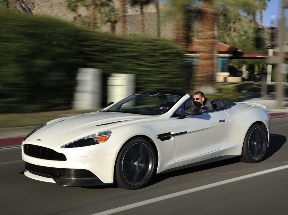 2014 Aston Martin Vanquish Volante US-spec supercar    f wallpaper
