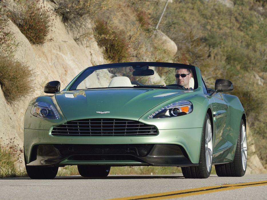 2014 Aston Martin Vanquish Volante US-spec supercar   e wallpaper