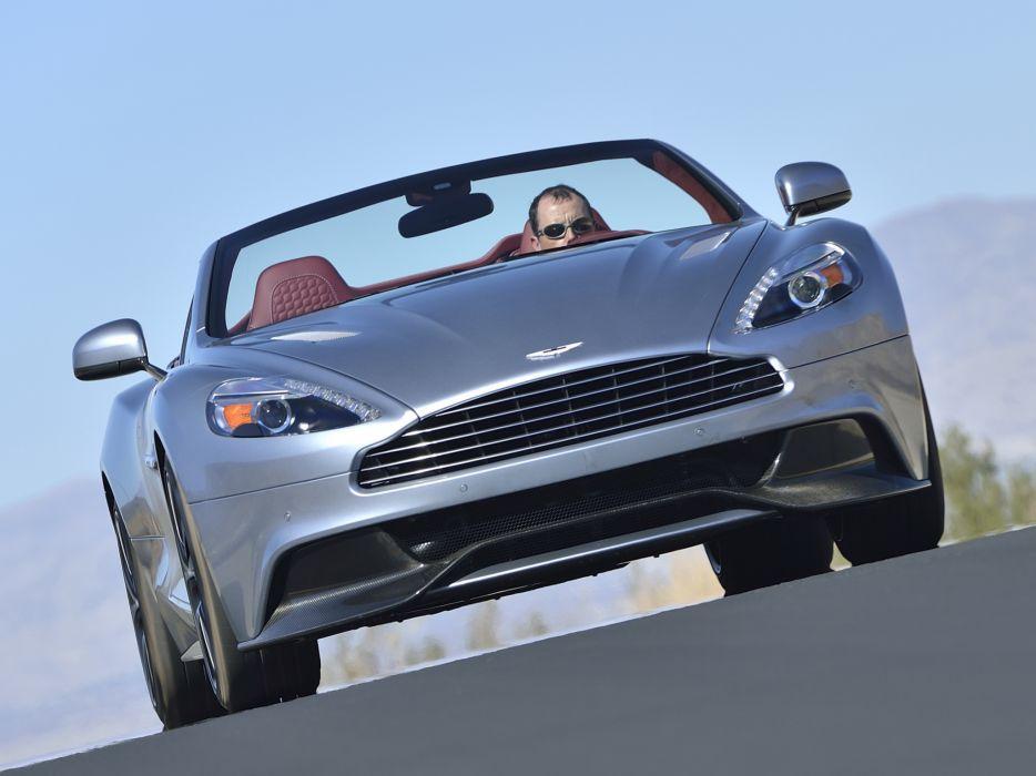 2014 Aston Martin Vanquish Volante US-spec supercar  r wallpaper