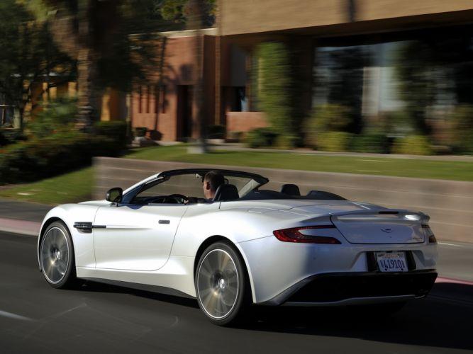 2014 Aston Martin Vanquish Volante US-spec supercar d wallpaper
