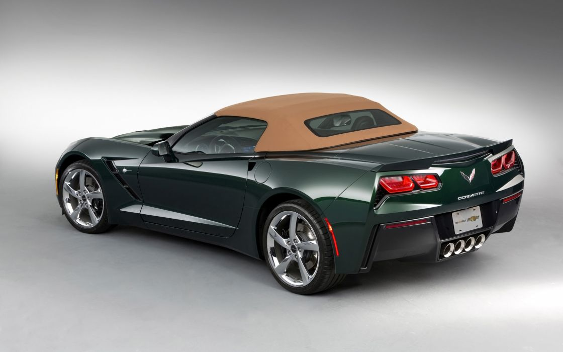 2014 Chevrolet Corvette Stingray Premiere Edition Convertible supercar muscle   f wallpaper